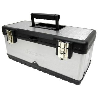 Homak Stainless Steel Toolbox   Tool Boxes