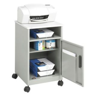 Safco Compact Machine Stand   Gray   Computer Carts