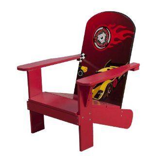 4Gr8 Kidz Racing Series Kids Wooden Adirondack Chair: Toys & Games