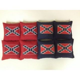 Confederate Flag Cornhole Bags   Set of 8   Cornhole