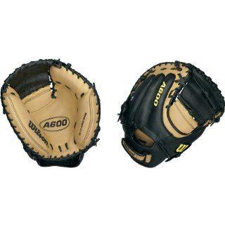 Wilson A600 DPCM Baseball Catcher's Mitt  Wilson Glove Catcher  Sports & Outdoors