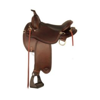 Tex Tan Monroe Wide Flex Trail Saddle   Western Saddles and Tack