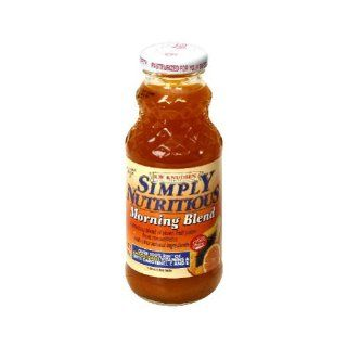 Knudsen, Juice Morning Blend, 8 FO (Pack of 24): Health & Personal Care