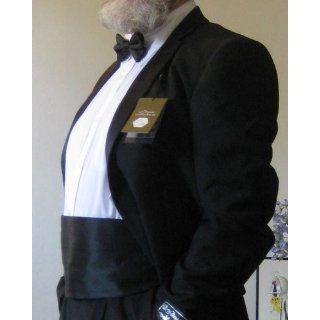 SILK Cumberbund & BowTie BLACK Men's Cummerbund & Bow Tie Set at  Men�s Clothing store Black Cummerbund And Bow Tie