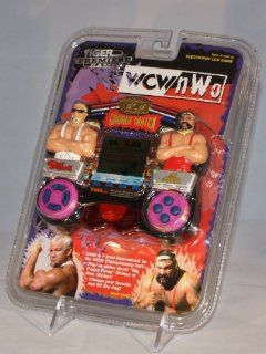 Tiger Premier Games   World Championship Wrestling New World Order ( WCW NWO ) Grudge Match Handheld Electronic Video Game: Toys & Games