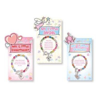 My Little Princess Toggle Charm Bracelet (72 Pack) Jewelry