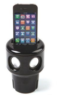 """AUTO TUNES"" CUP HOLDER SPEAKER THAT WORKS WITH ALL CELL PHONES Automotive"