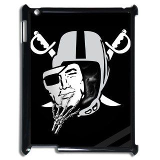 Diystore Custom New Style NFL Oakland Raiders Logo Cover Hard Plastic Ipad 3 Case: Computers & Accessories