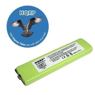 HQRP Portable CD / MD / MP3 Battery for Aiwa MHB 901 / MHB901, Panasonic RP BP61 RP BP61PY RQ SX40 Replacement plus Coaster : MP3 Players & Accessories