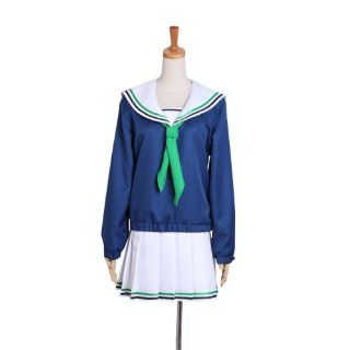 Basketball Aida Rico Girl Uniform Sailor Makoto Rin High School basketball club director cosplay costume S size of Kuroko (japan import): Toys & Games