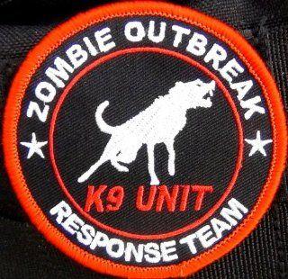 Zombie Outbreak Response Team K9 Patch