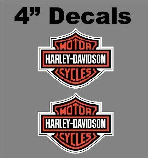 Harley Davidson Shield Decals Sportster 883 1200 Bobber HD Road King CVO: Everything Else