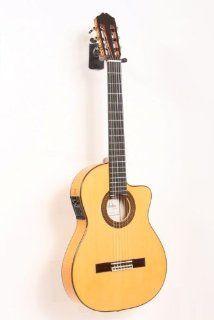 Cordoba 55FCE Thinbody Acoustic Electric Nylon String Flamenco Guitar Musical Instruments