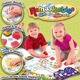 Remarkables Colour and Draw Activity Mat Toys & Games