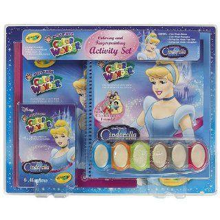 Crayola Color Wonder Disney Princess Activity Set   Cinderella Toys & Games