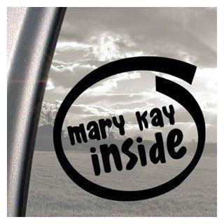 MARY KAY INSIDE Black Decal Car Truck Bumper Window Sticker