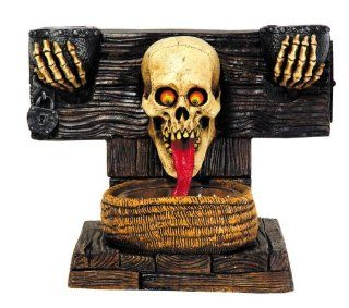 DOOR GREETER GHOUL HAUNTED HOUSE HALLOWEEN PROP DECOR Welcome Scary Graveyard MR124014: Toys & Games