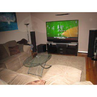 Elite Elt906 65 inch Wide Credenza Projection Tv Stand A/v Combo In Wenge Wood   Television Stands