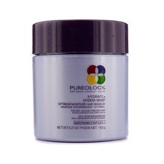 Pureology Hydrate Hydra Whip Optimum Moisture Hair Masque (For Dry Colour Treated Hair) 150G/5.2Oz: Health & Personal Care