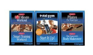 Total Gym Complete Fitness 3 Set DVD  Total Gym Workout Dvd  Sports & Outdoors