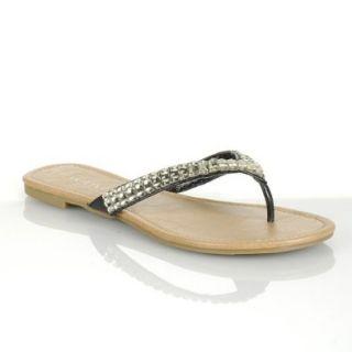 Liliana Women's Basic 7 Beaded Strap Sandals: Shoes