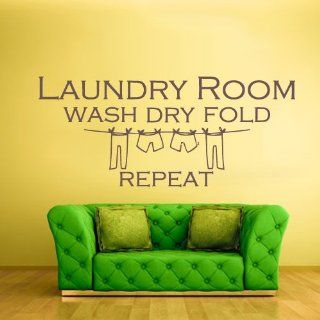 Wall Vinyl Sticker Decals Decor Art Bedroom Design Mural Words Sign Quote Laundry Room (Z935)   Wall Decor For Laundry Room