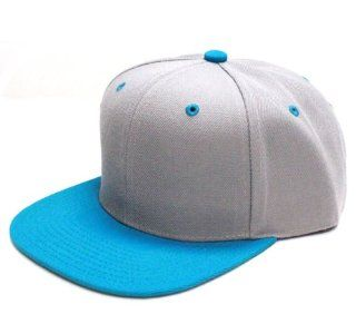 City Hunter Cf918t Two Tone Snapback (Light Grey/turquoise) : Other Products : Everything Else