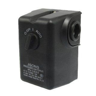 AC 240V 15A 80 115PSI 1 Port Air Water Compressor Pressure Switch Control Valve   Air Compressor Accessories