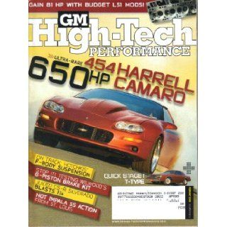 GM High Tech Performance Magazine, Entire Year Lot 9 Issues, Volume 14 (2008) Rick Jensen Books
