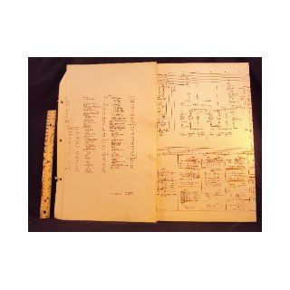 1974 74 FORD Pinto Electrical Wiring Diagrams Manual ~Original: Ford Motor Company: Books