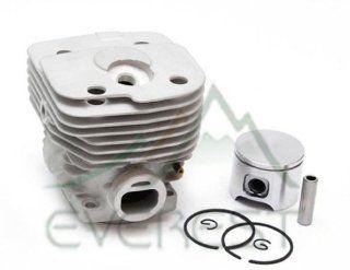 NEW CYLINDER HEAD PISTON KIT FOR HUSQVARNA PARTNER K950 K 950 CONCRETE SAW 56mm  Patio, Lawn & Garden