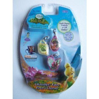 Disney Fairies Pixie Hollow Clickables Charms   Fawn: Toys & Games