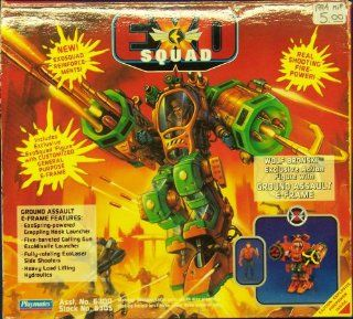 EXO Squad Ground Assault E frame with Exclusive Wolf Figure: Toys & Games