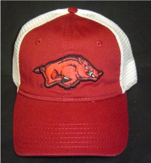 New University of Arkansas Razorbacks Mesh A flex Cap Hogs Trucker Hat OSFA : Sports Fan Baseball Caps : Sports & Outdoors