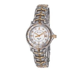 Bulova Marine Star Women's Watch 98M82: Bulova: Watches