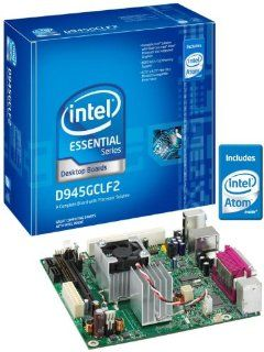 Intel D945GCLF2 Essential Series Mini ITX DDR2 667 Intel Graphics Integrated Atom Processor Desktop Board   Retail: Electronics