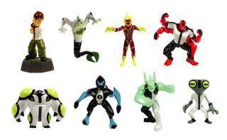 Ben 10 Mini Figures   Set of 8 Vending Machine Toys Toys & Games