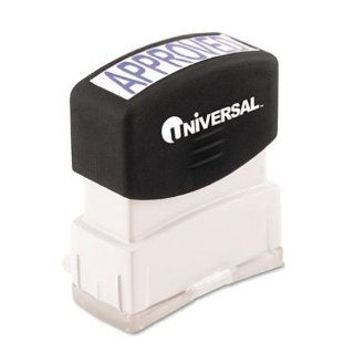 Universal Pre Inked One Color Stamp  Business Stamps  Electronics