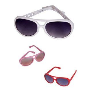 New Rock Star Glam Diva Costume Fashion White Glasses: Shoes