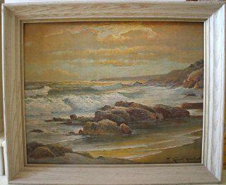 "Robert Wood ""Sunset Shore"" Painting   Oil Paintings"