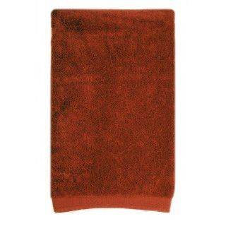 Graccioza Pure Colour 39 by 69 Bath Sheet, Brick Red   Hand Towels