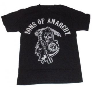 Sons of Anarchy Licensed Graphic T Shirt (XXL/Black) Clothing