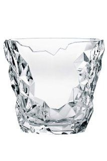 Nachtmann Lead Crystal Sculpture Oval Vase