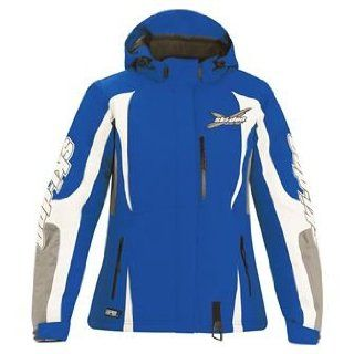Ski Doo Ladies X Team Winter Jacket XS Blue Snow Sled Trail NWT: Automotive