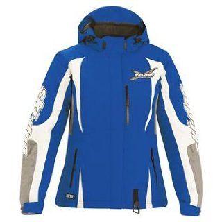 Ski Doo Ladies X Team Winter Jacket XS Blue Snow Sled Trail NWT: Automotive