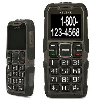 Kevenz Senior Citizen Cell Phone,Big Letters and Big Button,Simple and Easy to Use,SOS Button Phones(Prevent slipping,for over the age of 60 elderly,Unlocked GSM,Brown): Cell Phones & Accessories