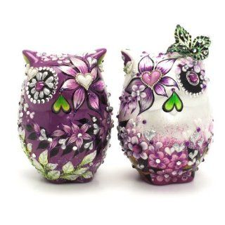 Owl Wedding Cake Toppers Purple Sangria Wedding Color A00019 Art and Craft Anniversary Gifts  Wedding Ceremony Accessories