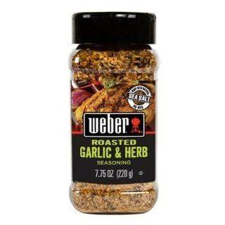 Weber Roasted Garlic & Herb Seasoning 7.75 oz (Pack of 4) : Chicken ...