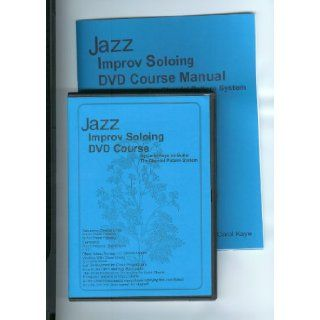 Jazz Improv Soloing DVD Course w/Manual by Carol Kaye on Guitar (bass music also) (w/Manual, finest steps in learning how to play Jazz Improv by Carol Kaye on Guitar (treble & bass music), Pre Requisite is Jazz Guitar or Jazz Bass, use with Pro's J