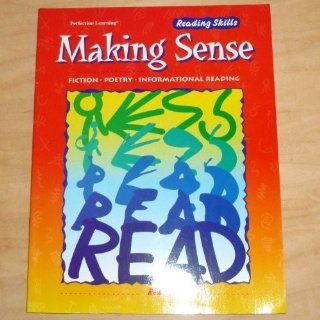 Making Sense  Reading Skills: Fiction, Poetry, Informational Reading: Terry Ofner: 9780789123329: Books